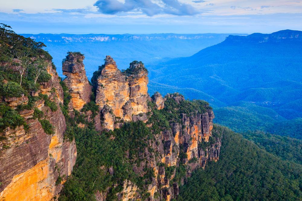 Three Sisters in Blue Mountains National Park, New South Wales, Australia