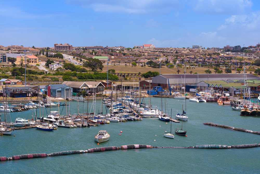 Yachts in Port Elizabeth, South Africa