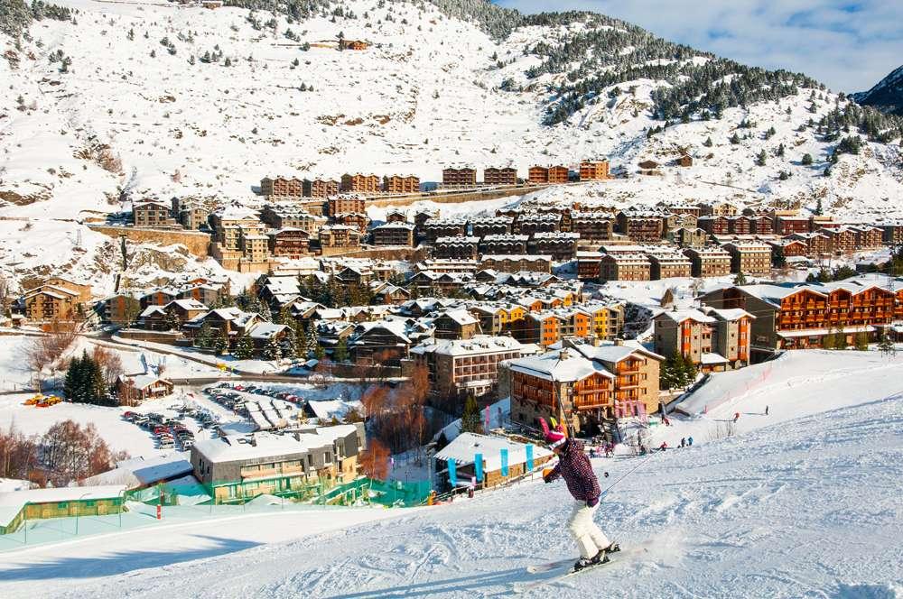 El Tarter village, part of Grandvalira winter resorts, Andorra
