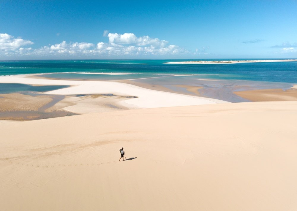 Exploring the Bazaruto Archipelago in Mozambique