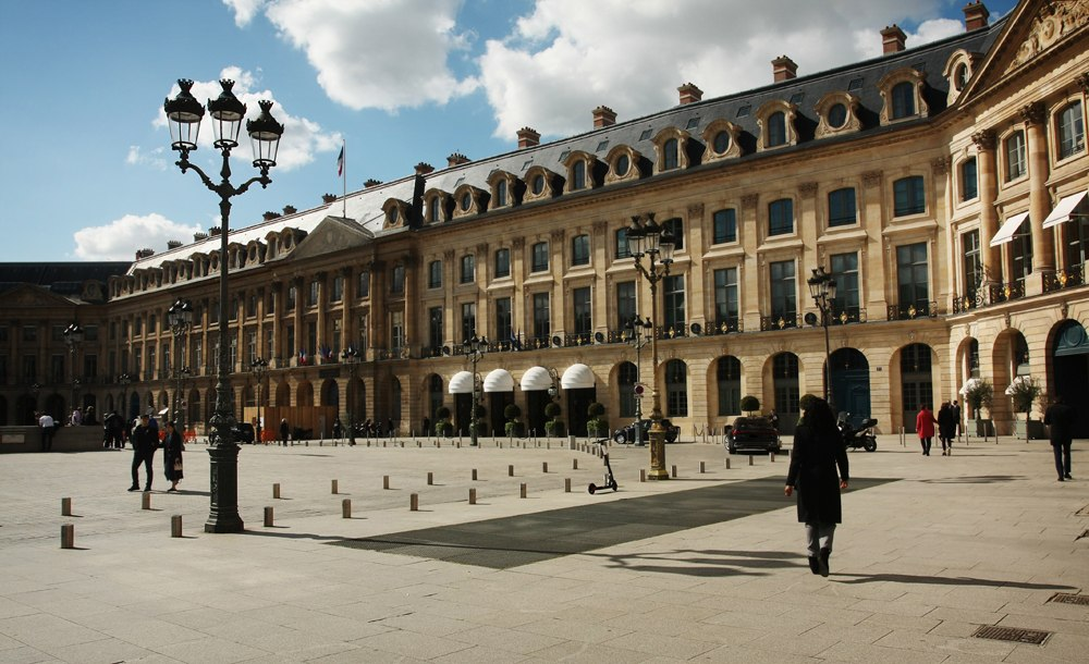 Hotel Ritz Paris at Place Vendôme, Paris, France