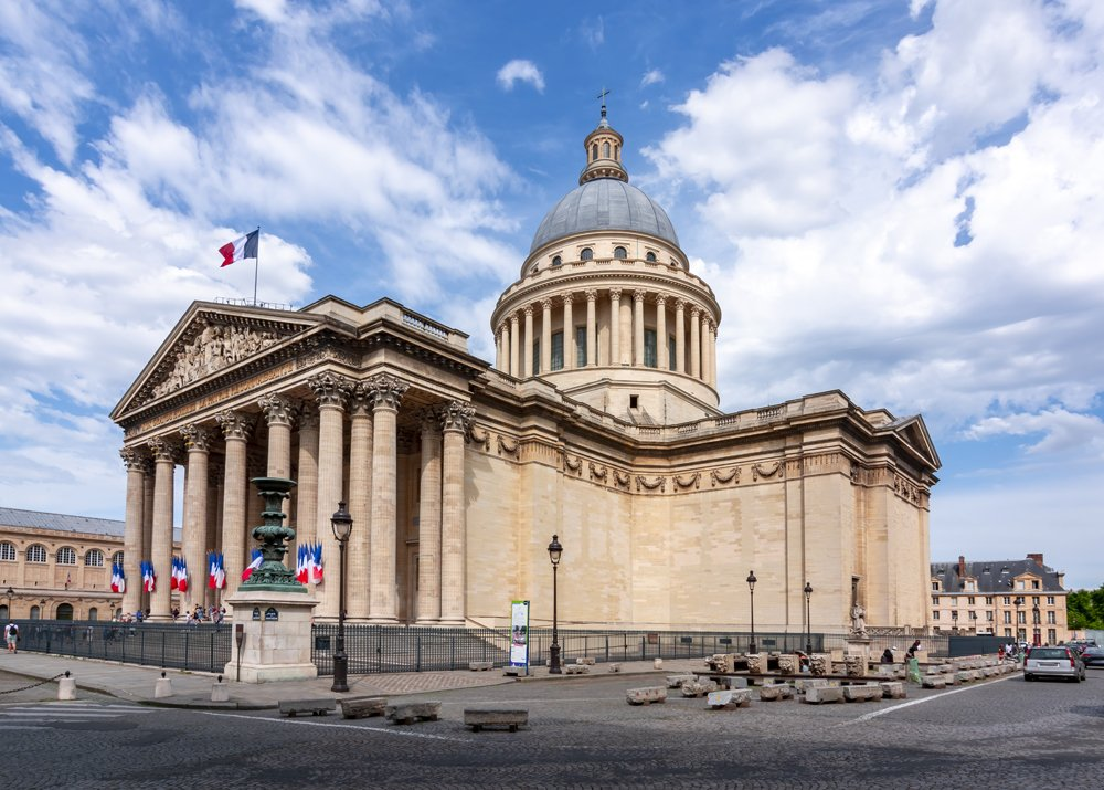 Pantheon in Paris, France