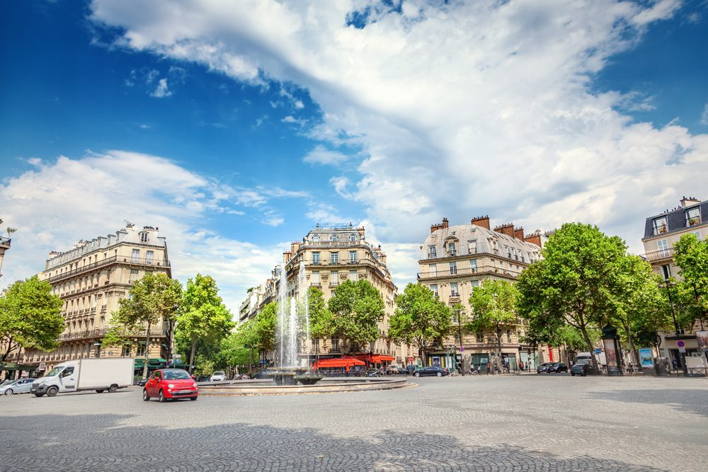 Place Victor Hugo, Paris, France