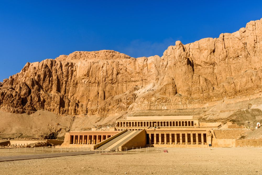 Queen Hatshepsut's temple, part of the Theban Necropolis, Egypt