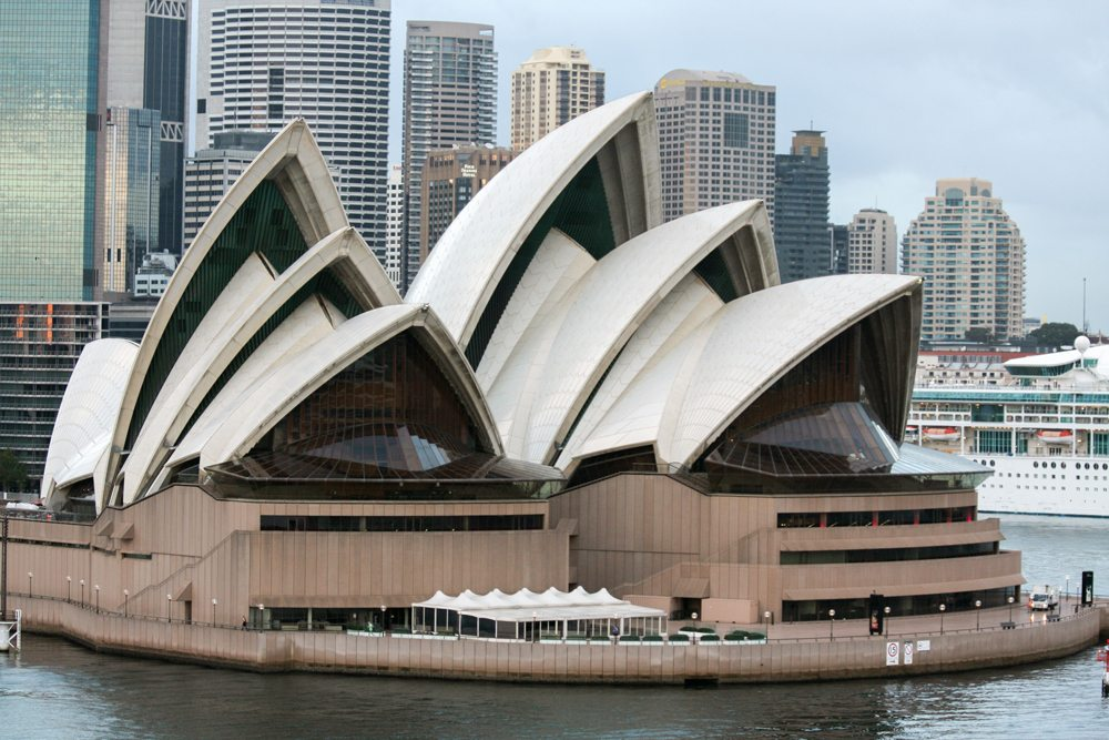 Sydney Opera House in Sydney, New South Wales, Australia