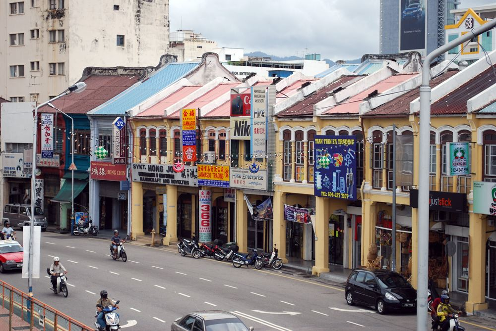 19th-century shop-houses in Georgetown, Penang, Malaysia