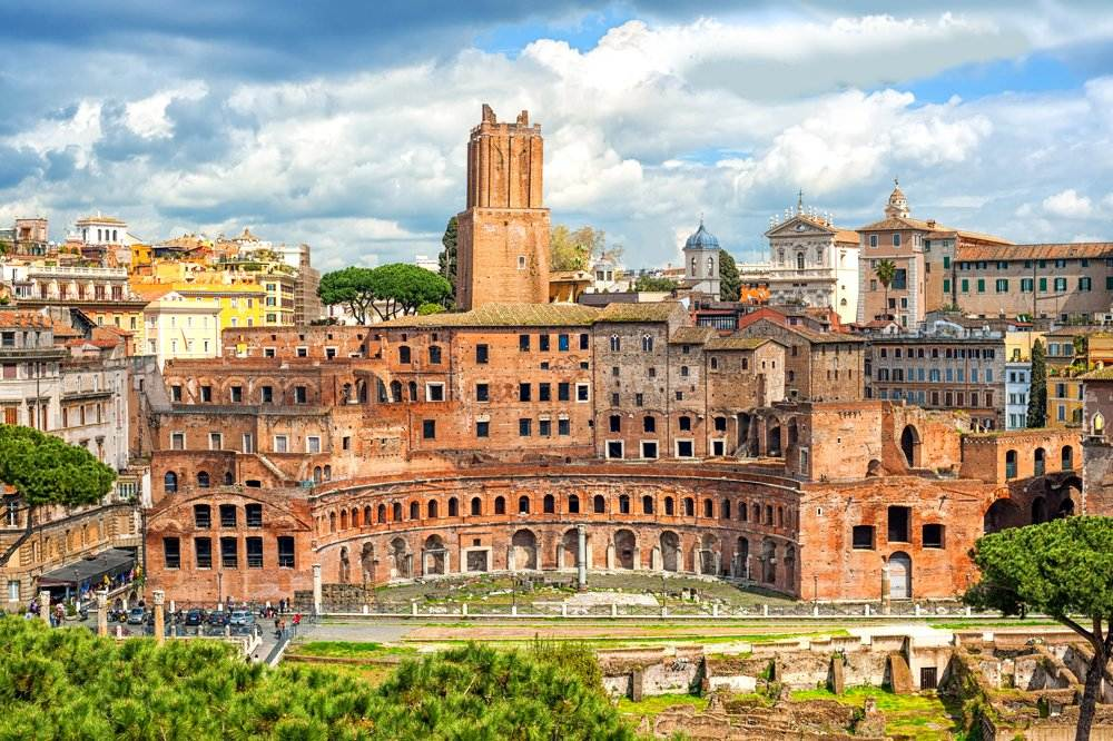 Markets of Trajan, Rome, Italy