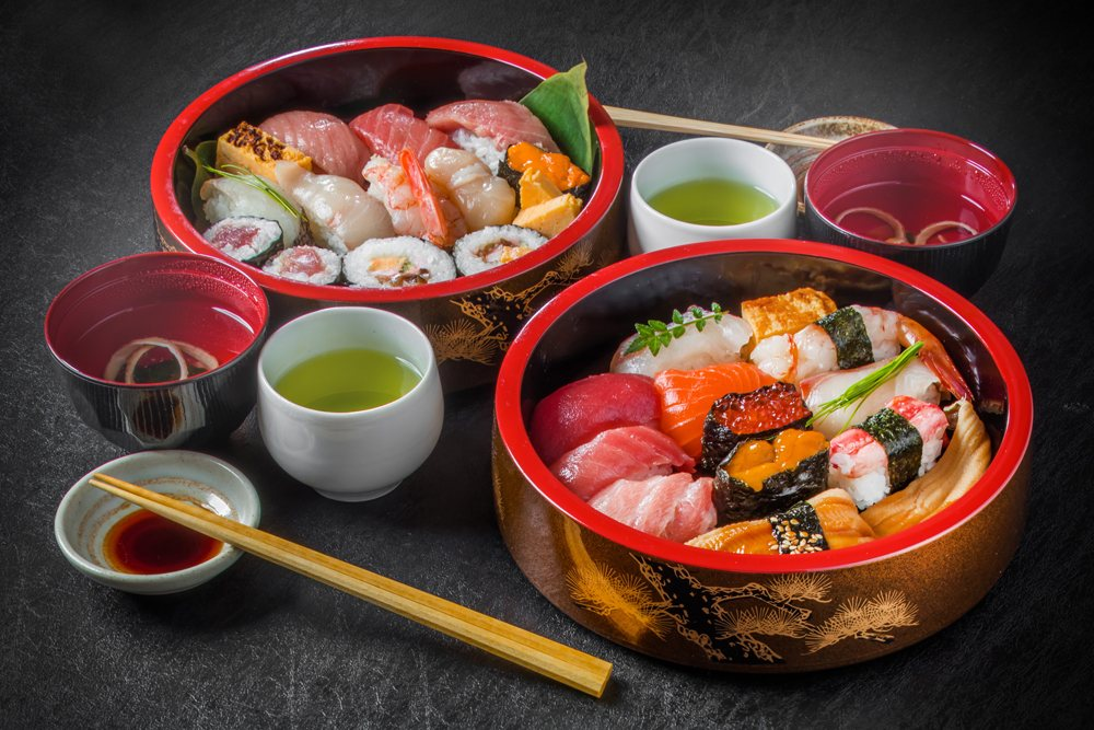 Tokyo style sushi, Tokyo, Japan
