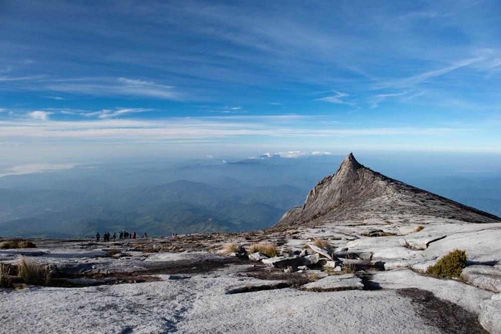 Top of Mount Kinabalu, Borneo, Malaysia