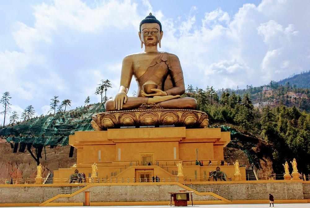 Statue of Great Buddha Dordenma at Buddha Point, Thimphu, Bhutan