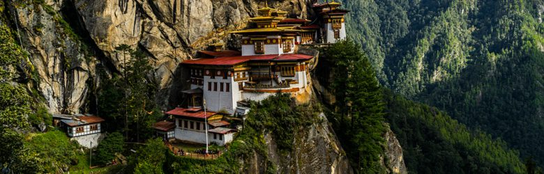 Takshang Monastery or Tiger's Nest, Paro Valley, Bhutan
