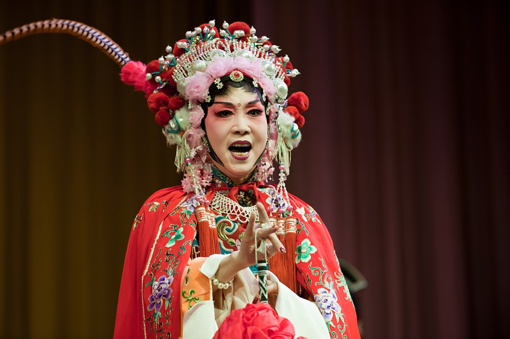 Peking opera performer, China