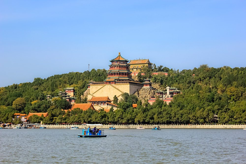 Summer Palace at Longevity Hill, Beijing, China