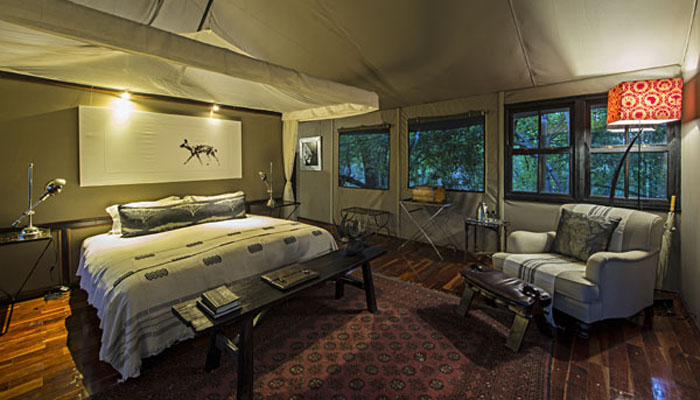 Chitabe Camp interior