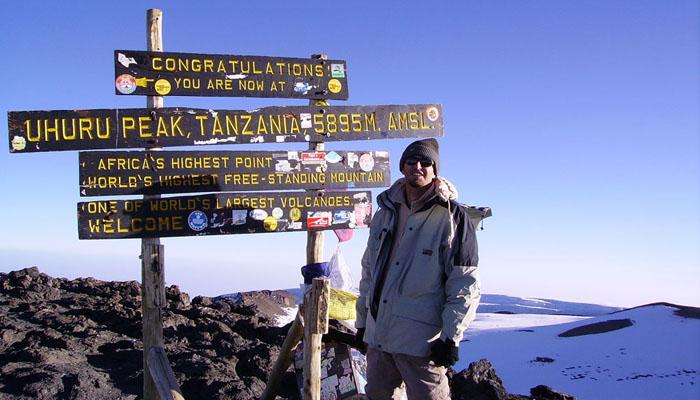 Mount Kilimanjaro Tanzania Machame Route