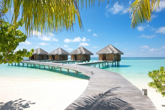 Spa villas at LUX South Ari Atoll Resort, Maldives