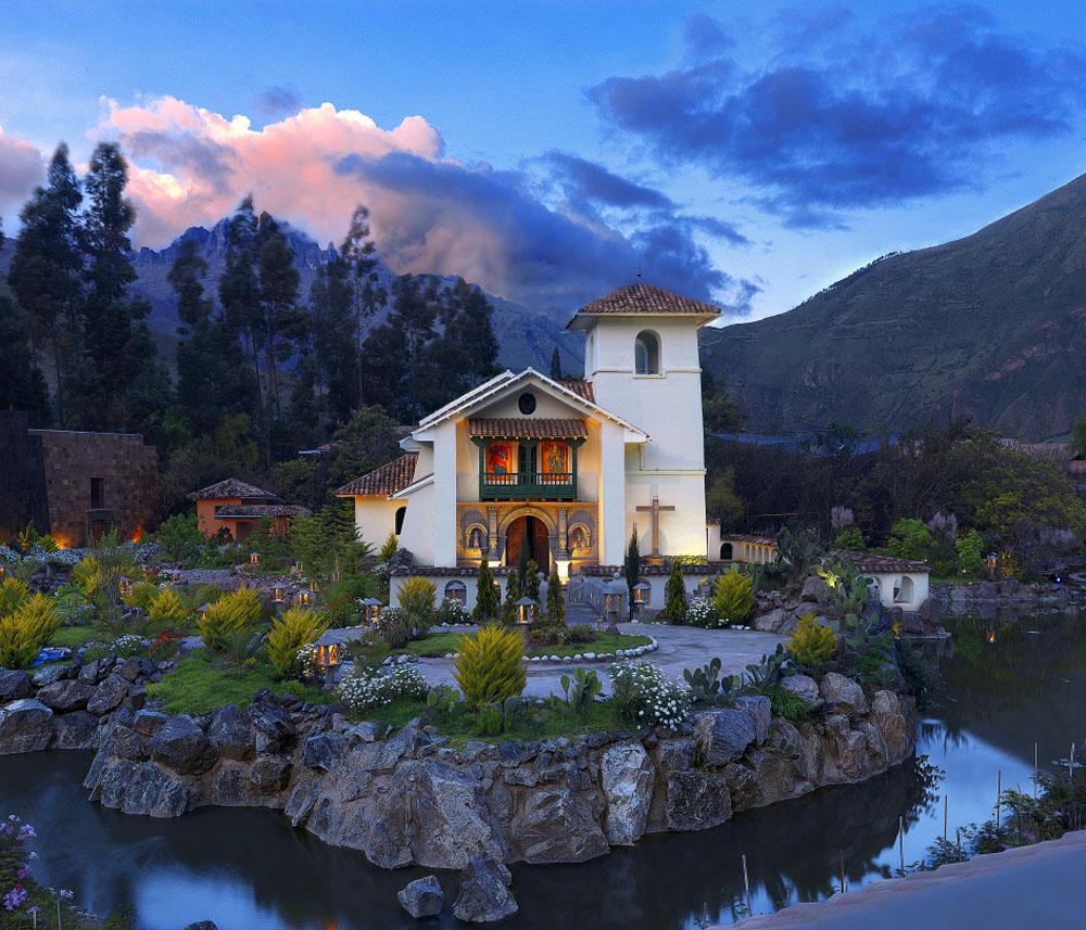 Church at Aranwa Sacred Valley Hotel & Wellness, Peru