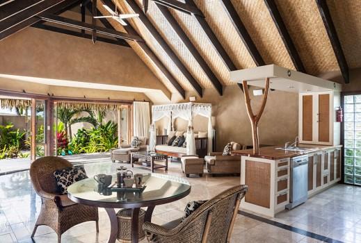 Interior of personal villa