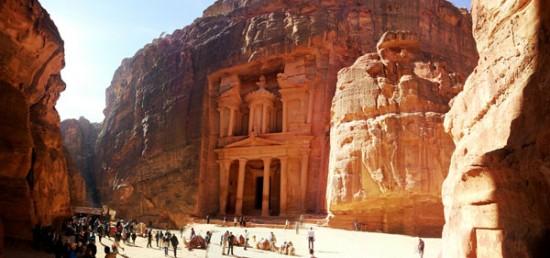 Treasury Building in Petra