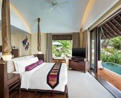 Tropical Pool Villa interior