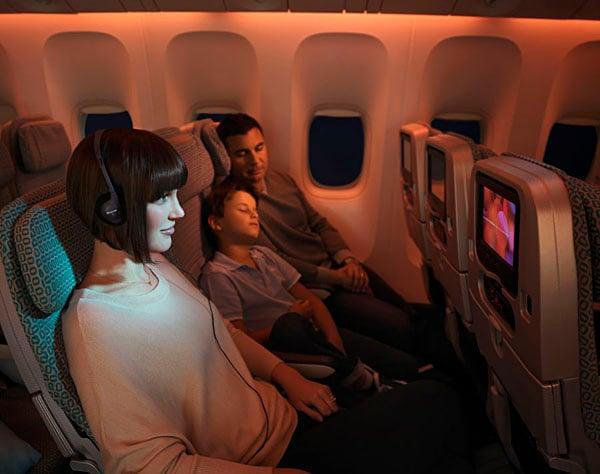 Virgin Australia's Economy Class seating