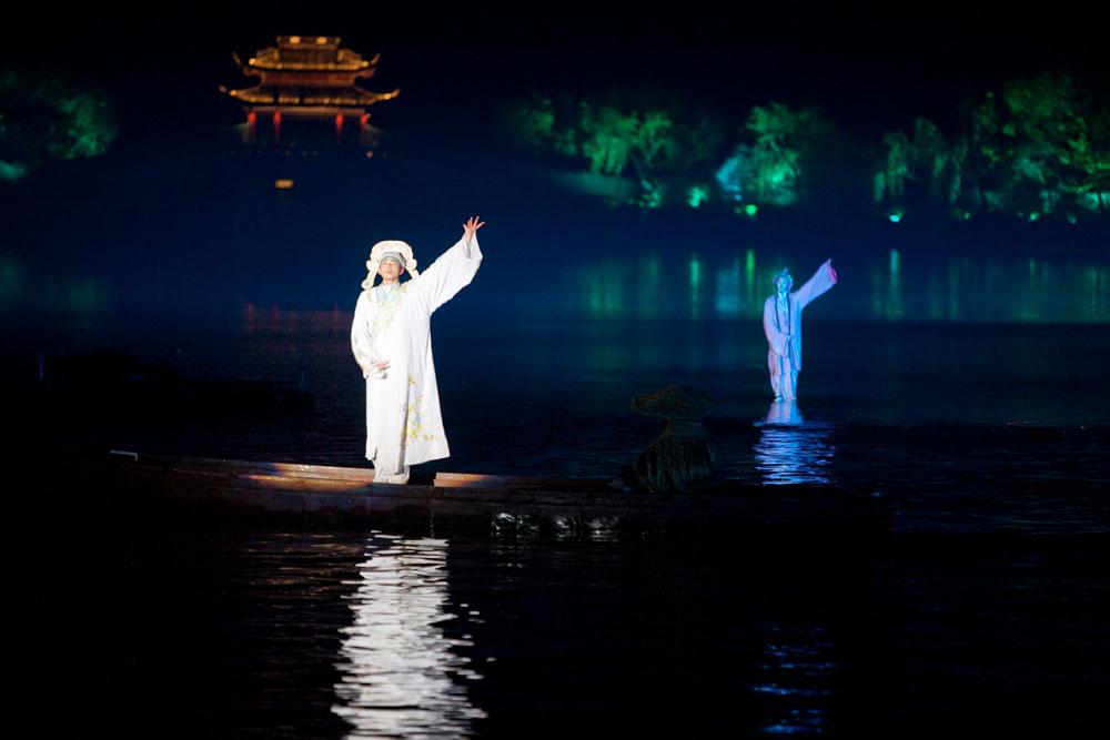 Impressions Of The West Lake, Hangzhou, China