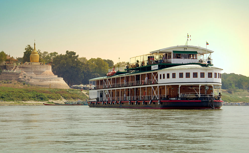 Orient Pandaw Ship in Myanmar