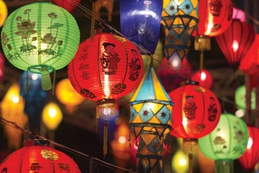 Hong Kong Lanterns