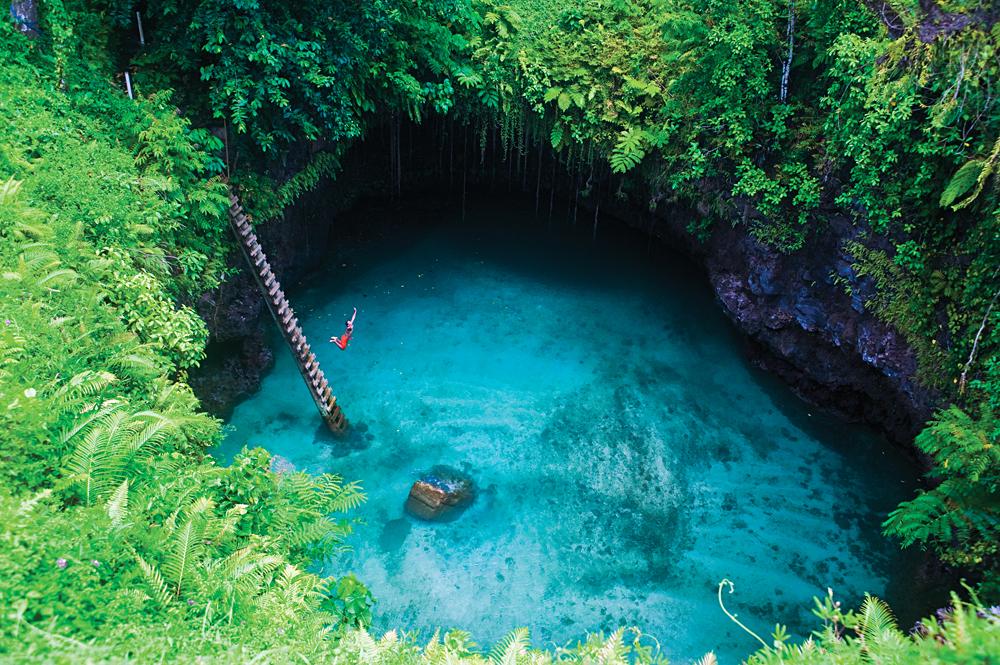 Natalia Kovacs - To Sua Ocean Trench, Samoa