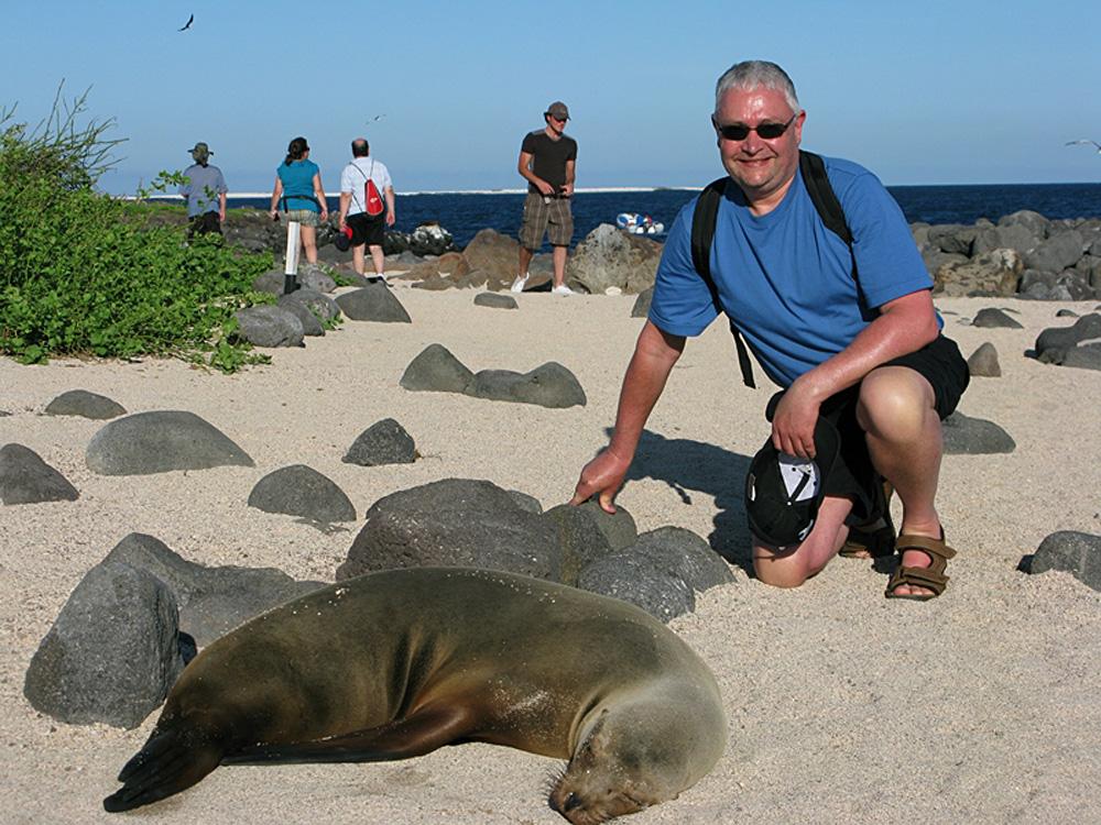 Seal Encounter on a Galapagos Islands Ecuador Fam