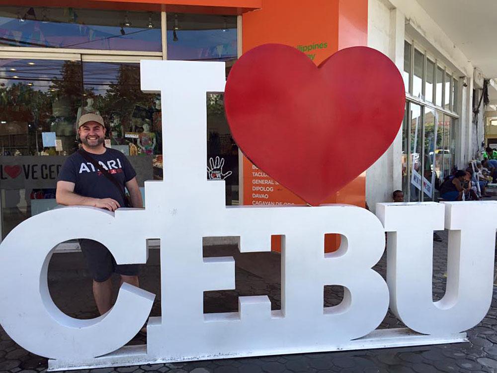 Steve Perkins in Cebu, Philippines