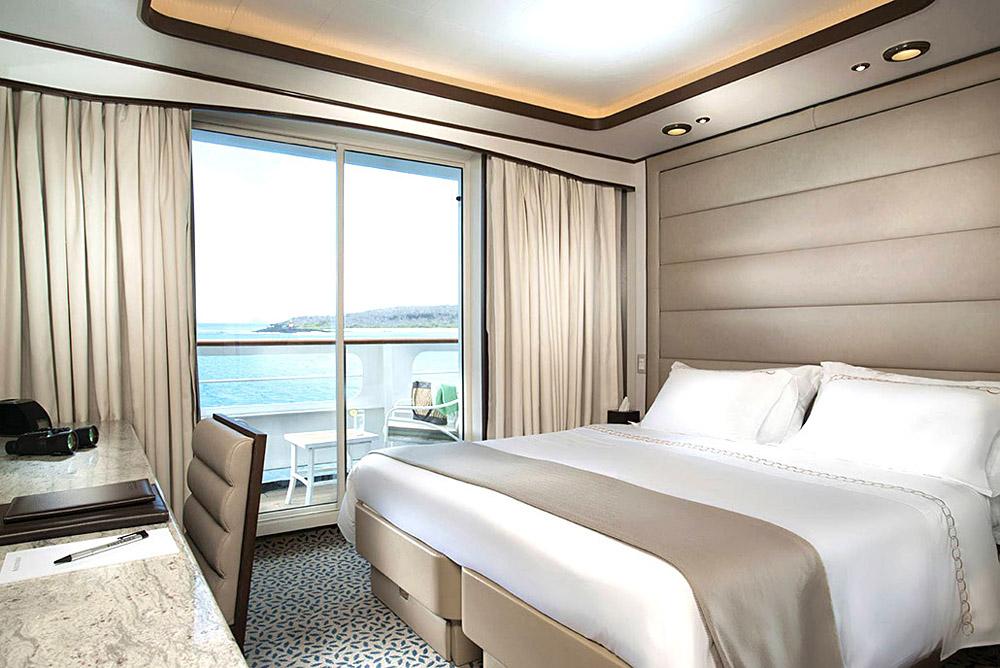 Silversea Silver Galapagos G Deluxe Verandah Suite, Ecuador