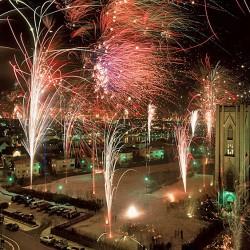 Famed Reykjavik New Years Eve Fire Works, Iceland