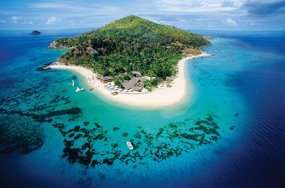 Fiji Island Aerial View