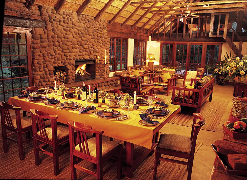 Isibindi Africa Lodges - Isibindi Zulu Lodge Dining, KwaZulu-Natal. South Africa