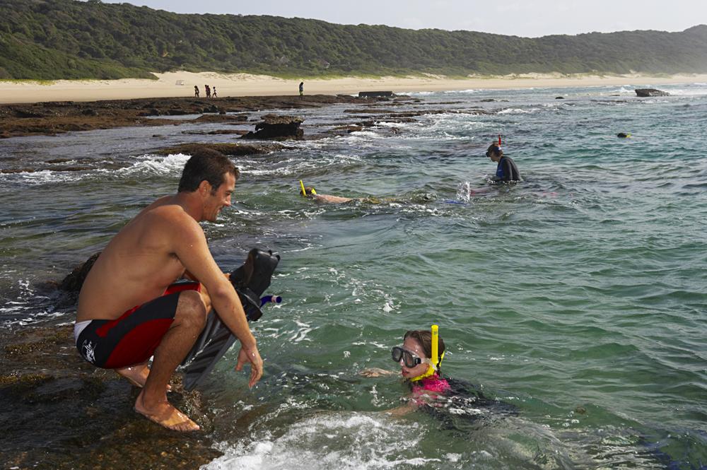 Isibindi Africa Lodges - Thonga Beach Lodge Snorkeling, KwaZulu-Natal. South Africa