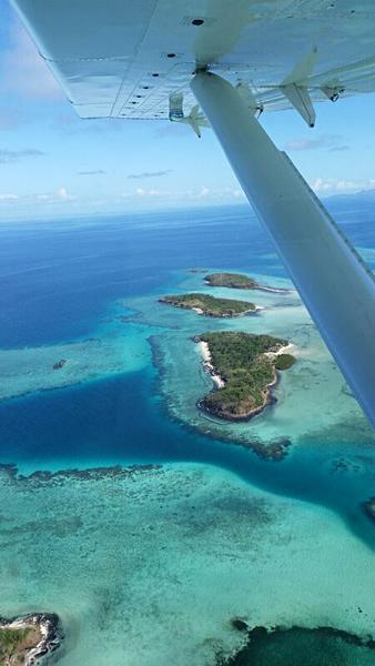 Natalie Jurcic - Seaplane Yasawa Lagoon View, Fiji