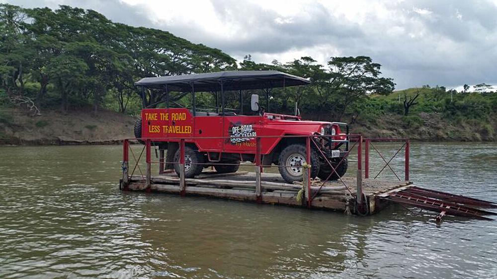 Natalie Jurcic - Sigatoka Valley Jeep Safari, Fiji