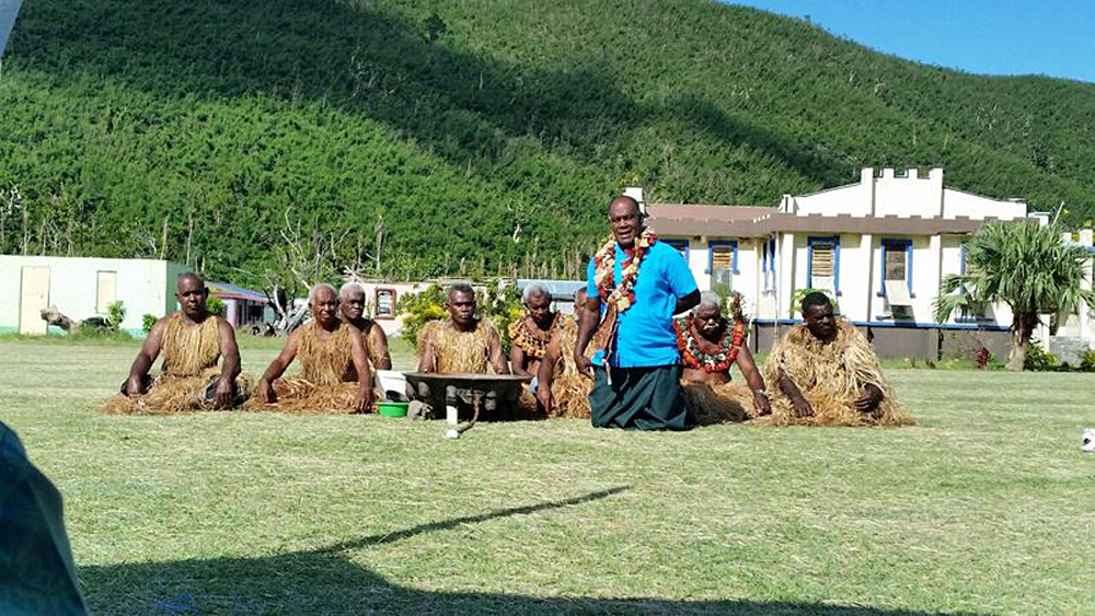Natalie Jurcic - Soso Village Kava Ceremony, Fiji
