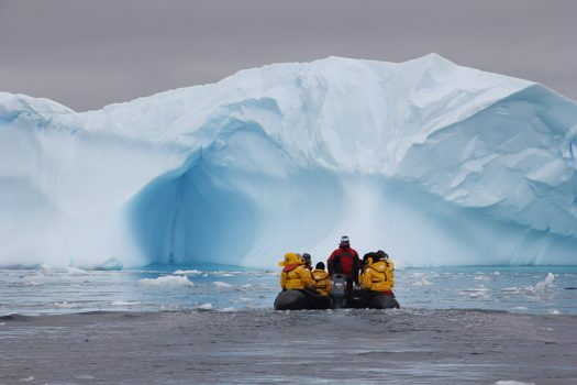 Stunning Ice Formations in Antarctica