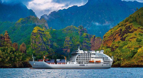 Aranui 5 Cruise Vessel, Tahiti