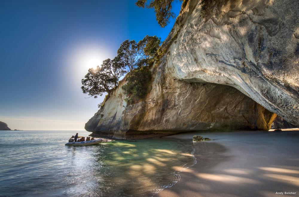 Cathedral Cove, Coromandel Peninsula - Image Courtesy of Tourism NZ & Legend Photography