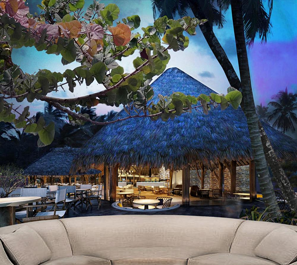 Conrad Bora Bora Nui - Beach Grille Area, Bora Bora, Tahiti