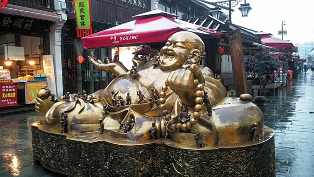 Hefang Street in Hangzhou, China | Photo Credit: Melissa Bryant