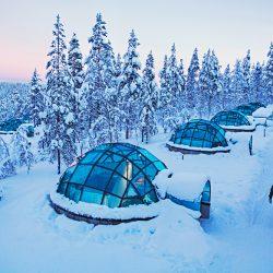 Kakslauttanen Arctic Resort - Glass Igloos, Finnish Lapland, Finland