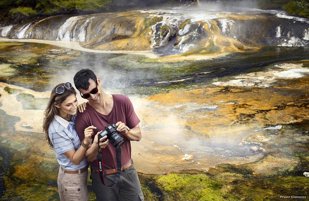 Waimangu Geothermal Valley, Rotorua - Image Courtesy of Tourism NZ and Fraser Clements