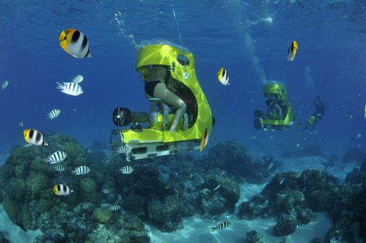 Aquabike excursion in Bora Bora, Tahiti (French Polynesia)