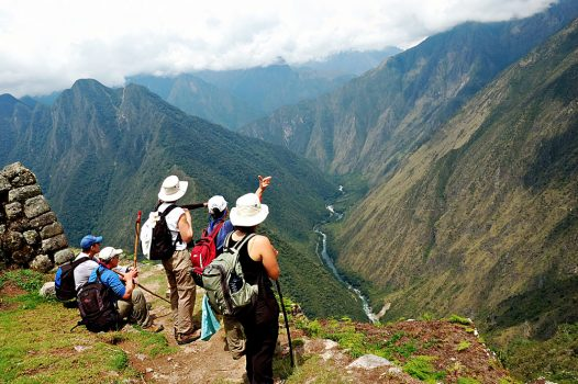 Guided Stops on the Inca Trail, Peru