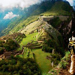 Photographing Machu Picchu, Peru