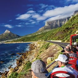 Cruising into Camps Bay in Cape Town, South Africa | Photo credit: Justin Lee